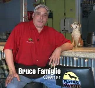 Bruce Famiglio, Flying Dog Cafe