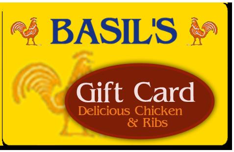 Basils Chicken Gift Card