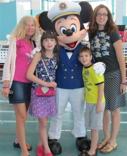Laurie Harris Family Disney Cruise