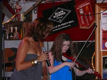 Savannah Brady Violin Player