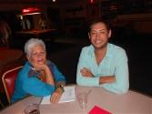 Laurie Mirkin and Ricardo Morales