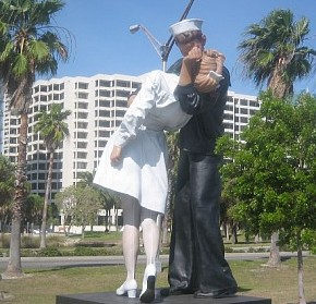 Sarasota Florida Statue
