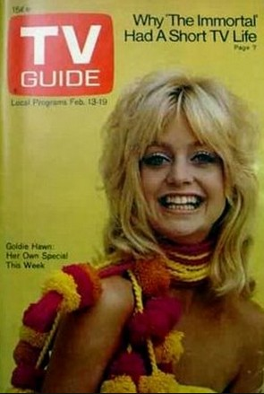Goldie Hawn Courtesy of TV Guide