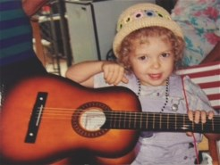 First Guitar, age 3