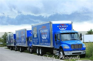 US Tent Rental Truck Fleet