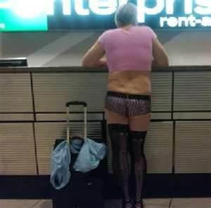 Proper Airport Dress