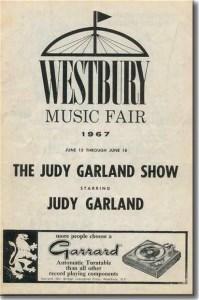 Westbury Music Fair, Judy Garland
