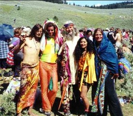 Hippies Hanging Out