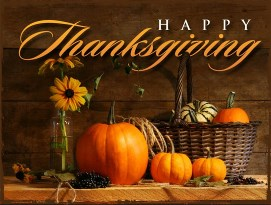 Happy Thanksgiving from Keith Bettinger