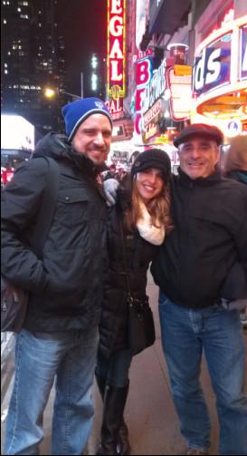The Caplin's...Lindsay, Bryan & Poppy!