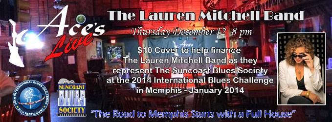 The Road To Memphis, The Lauren Mitchell Band