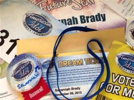 Disneyworld American Idol Savannah Brady