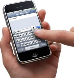 Texting On Cell Phones