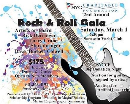 Rock & Roll Gala, Sarasota Yacht Club