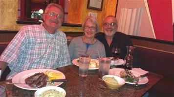 Dinner at Primo-Ristorante, Sarasota, Florida