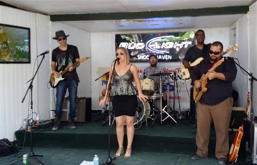 Betty Fox Band, Photo supplied by Myakka Blues Festival from Facebook