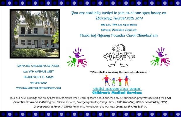 Manatee Children's Services Open House