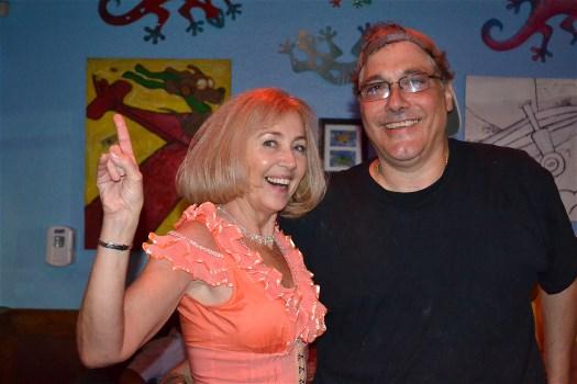 Jane White and Bruce Famiglio
