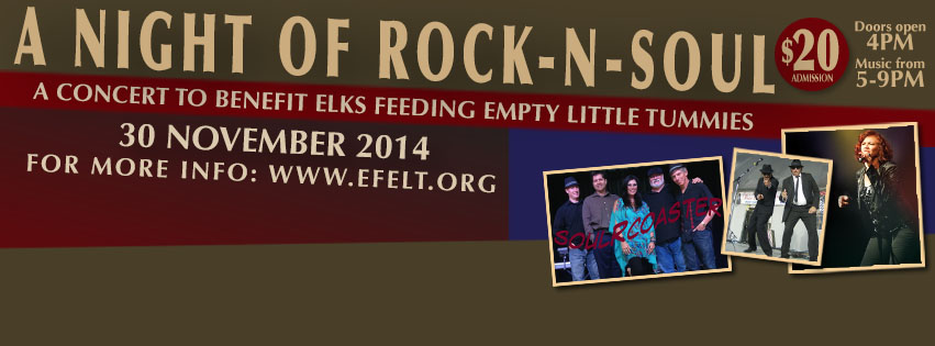 Concert To Benefit Elks Feed Empty Little Tummies