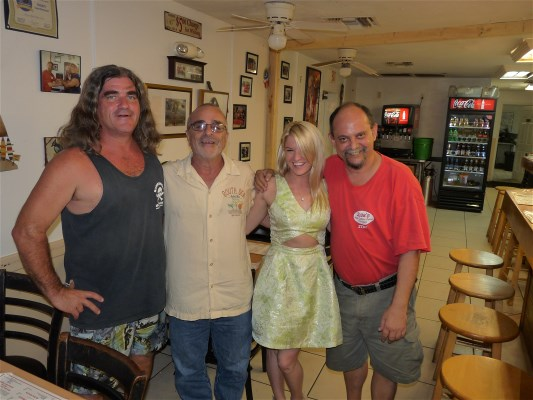 Mark Kracker, Sande Caplin, Kara Nally and Jose Baserva at Jose's Real Cuban Food