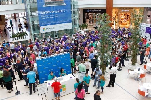 Microsoft Grand Opening at the UTC Mall, Sarasota, Florida