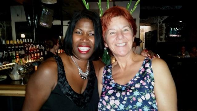 Synia Carrol and Laura Adams