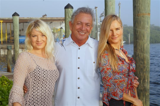 Twinkle, Kara Nally, Billy Rice at the Swordfish Grill