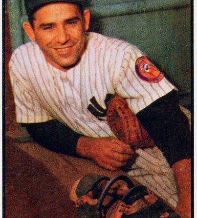 Yogi Berra, 1953 Wikipedia Photo