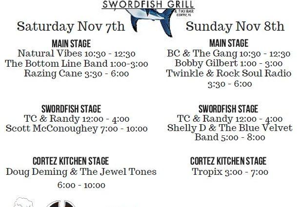 The 4th Annual Cortez Stone Crab Festival November 7th & 8th