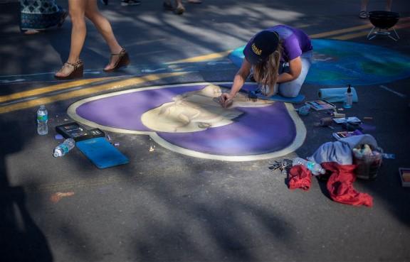 Venice Chalk Festival