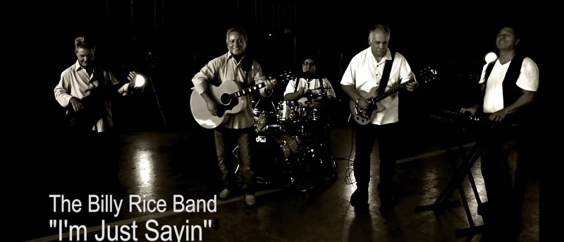 """The Billy Rice Band """"Just Sayin"""""""