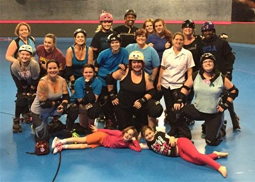 Ladies Roller Derby Sarasota Florida