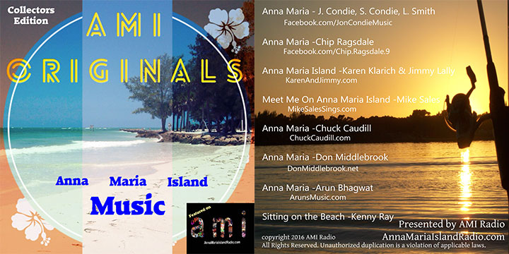 CD Compilation Just Released for Anna Maria Island