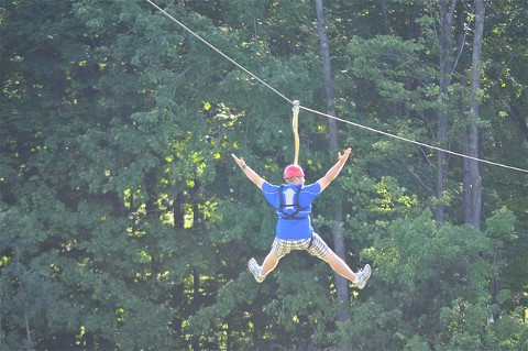 Flying High at Treeumph! Adventure Course