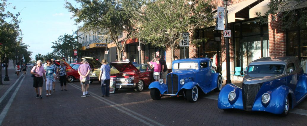 Downtown Sarasota Car Show