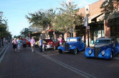 Downtown Sarasota Car Show