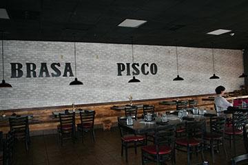 Brasa and Pisco