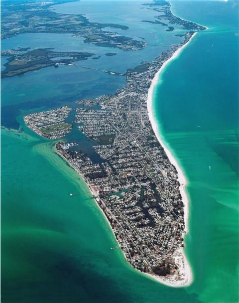 Jack Elka Aerial View of Anna Maria Island Florida