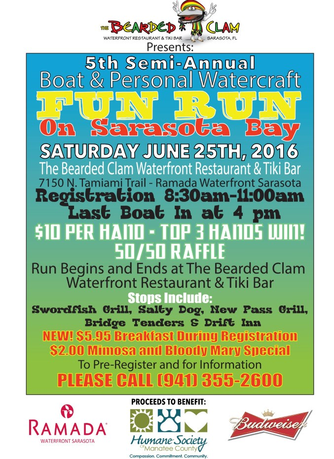 The 4th Annual Boat and Personal Watercraft FUN RUN