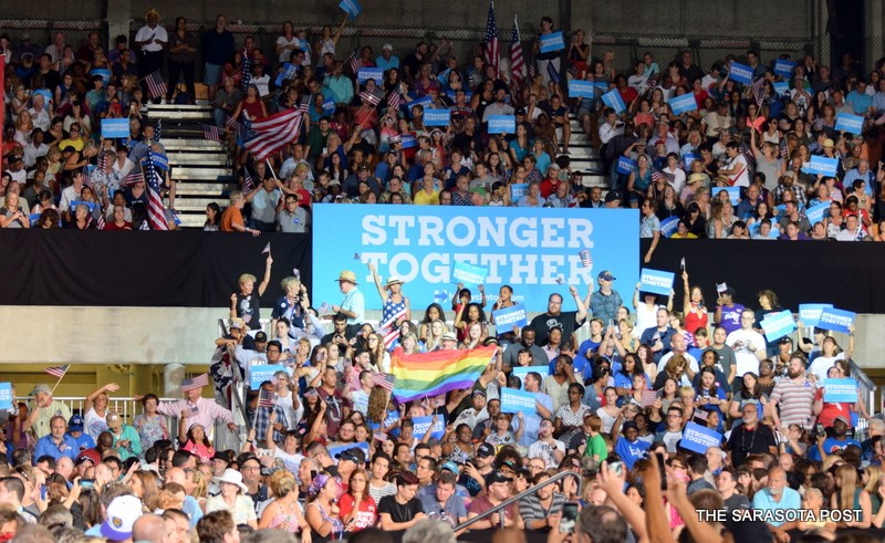 Hillary Clinton Rally In Tampa