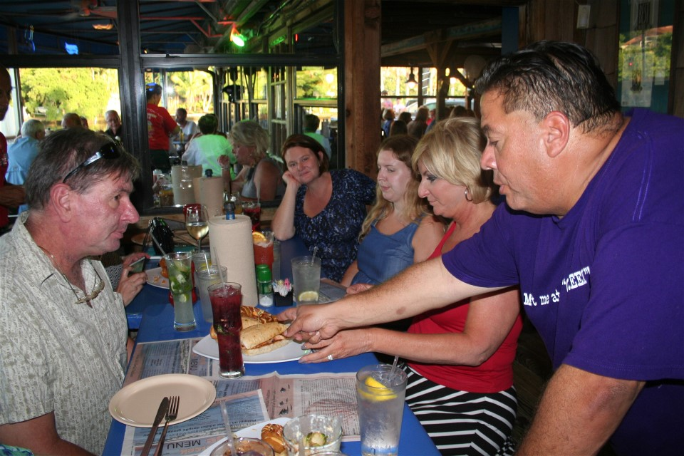 The Table Creekside Restaurant and Phillippi Creek Oyster Bar are located in Phillippi Creek Village at 5353 South Tamiami Trail, Sarasota.
