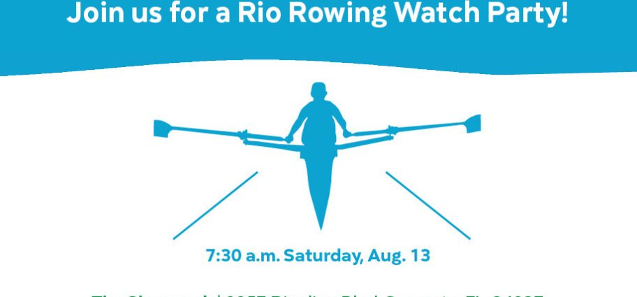 Rio 2016 Olympic Rowing Watch Party In Sarasota