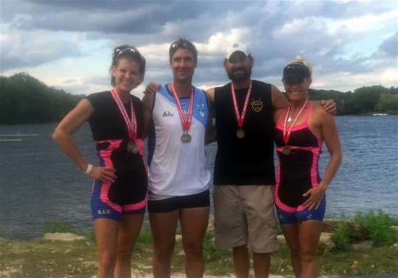 Laura Corbett, Julio Sanchez, Matt Muffelman, Karen Wiegandt win gold in Mixed Quad (4x)