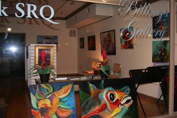 Art Walks on the third Friday in Sarasota Florida