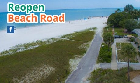 Reopen Beach Road Siesta Key Florida