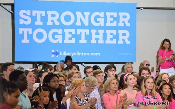 Stronger Together Hillary Clinton