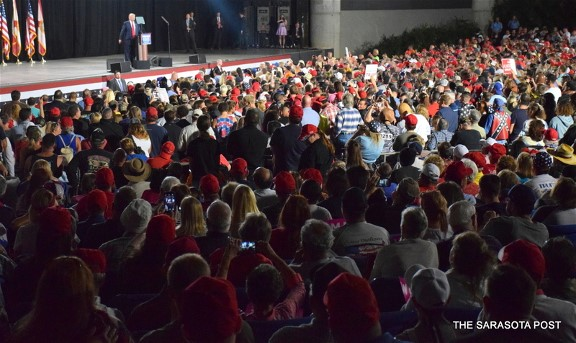 Trump Rally at the Florida State Fairgrounds