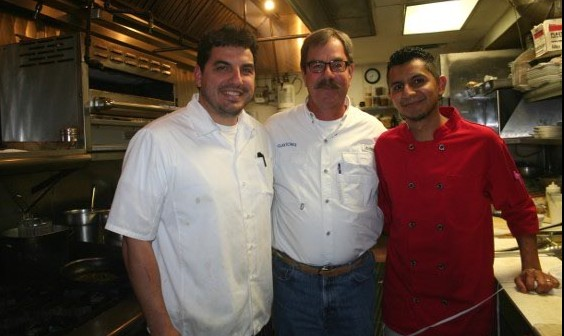 Head Chef Dimitri, Clayton and Sous Chef Carlos