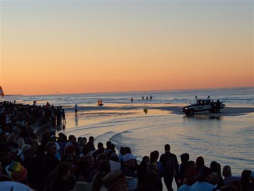 Crowded Florida Beaches