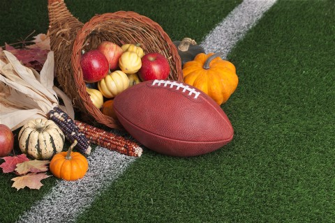 Football on Thanksgiving Day